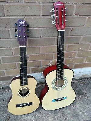 £0.99 • Buy 2 X Childrens Acoustic Guitars. No Reserve!