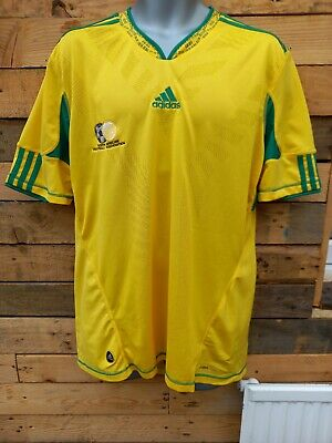 £5.99 • Buy Official Adidas South Africa Home Football Shirt Size Adult Large