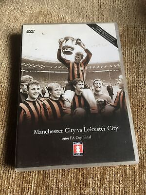 £0.01 • Buy 1969 FA Cup Final Manchester City V Leicester City 1956 Football DVD Man City