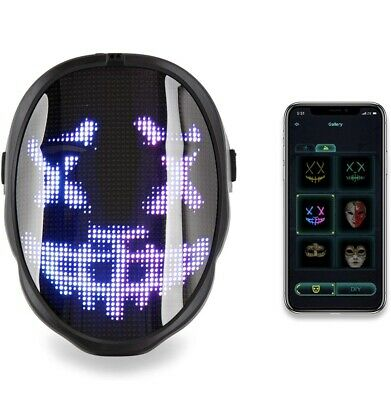 £56.99 • Buy Face Transforming LED Mask - Electronic Changing Face Mask, Customizable Screen
