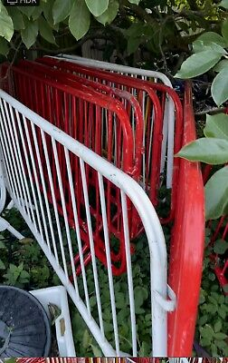 £15 • Buy Used Site Crowd Safety Pedestrian Fencing Barriers Shops Warehouse Building