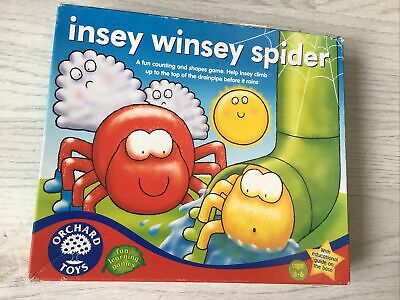 £2.60 • Buy Orchard Toys Insey Winsey Spider Game- Lid Of Box Is Damaged