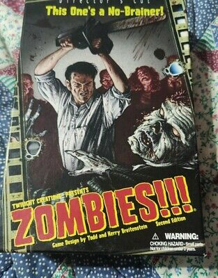 £8 • Buy Zombies Directors Cut Board Game Twilight Creations Complete Zombies!!!