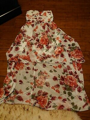 £15 • Buy Lila High Low Floral Dress