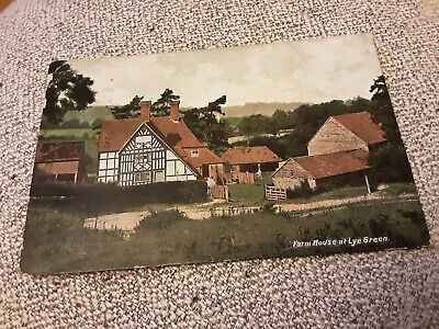 £1 • Buy Old Frith Postcard Of Farm House At Lye Green, Sussex Posted 1909 AF
