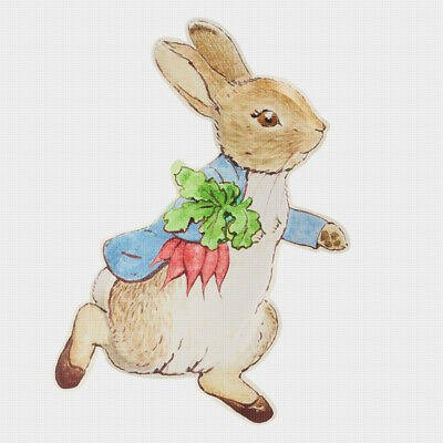 £7.08 • Buy Beatrix Potter Peter Rabbit Brings Carrots Home Counted Cross Stitch Pattern