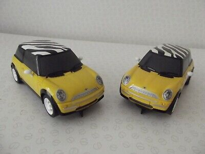 £20 • Buy Scalextric Digital And Non Digital Bmw Mini Coopers (2 X Cars)