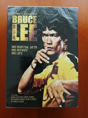 £9.99 • Buy 'BRUCE LEE' The Ultimate Collection (DVD) Boxset RARE FOOTAGE - New And Sealed
