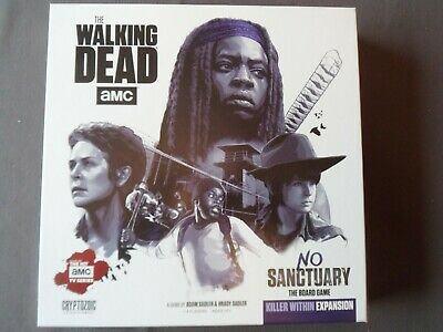 £15 • Buy Walking Dead No Sanctuary Board Game Killer Within Expansion Zombies Miniatures