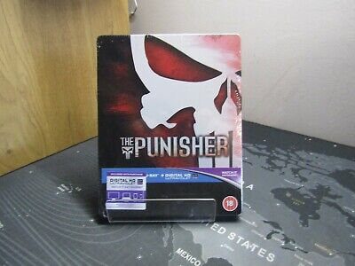 £30 • Buy The Punisher Limited Edition Blu-ray Steelbook New Sealed U.k. Release