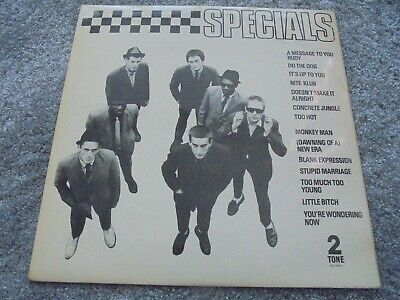 £12.50 • Buy The Specials - Same 1979 UK LP 2 TONE 1st MOD SKA TWO TONE