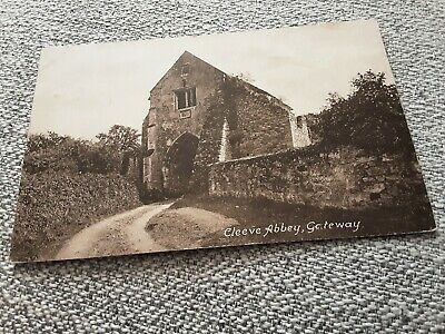 £1 • Buy Old Frith Postcard Of Cleeve Abbey Gateway, Somerset Posted 1926