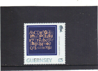 £0.99 • Buy Guernsey 2003 - Letters On A  £5 Stamp M.n.h.