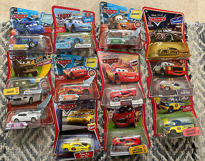 £7.61 • Buy 12 Disney Cars Chase Lot Eyes Move Supercharged Race Rama Mcqueen Mater Dj Sarge