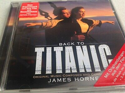 £0.84 • Buy Back To Titanic ☆ More Music From The Motion Picture  James Horner (1998) CD