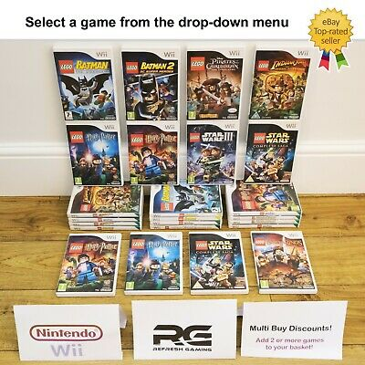 £5.97 • Buy Nintendo Wii Games - Multi-Listing - Select A Game - Lego Star Wars Harry Potter