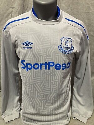 £25 • Buy Everton Away Shirt 2017/18 Long Sleeved Small Mint Condition