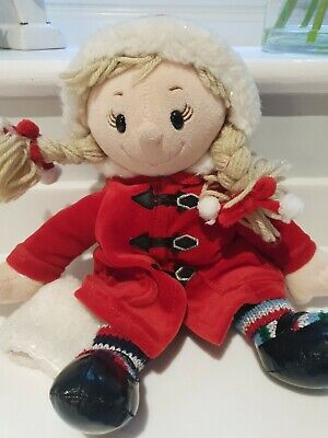 £10 • Buy Tesco Chilly And Friends Christmas Plush Girl New Without Tags 30cm