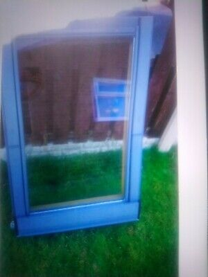 £124.99 • Buy Used Velux Ggl M06 78x118 Centre Pivot Roof Window In Pine Good Condition