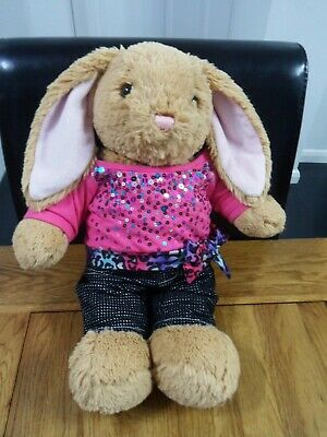 £5.99 • Buy Build A Bear Workshop 16  Bunny Rabbit Wearing Outfit Soft Toy