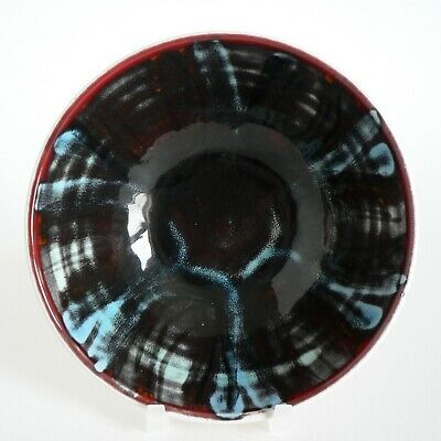 £38 • Buy Poole Pottery Delphis 5  Bowl #86 Shirley Campbell Abstract Unusual Colours 60's