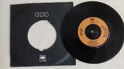£2.50 • Buy Adam And The Ants  Antmusic  B/w  Fall In  7  New Wave Single