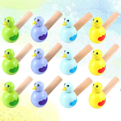 £12.87 • Buy 15pcs Wooden Bird Whistles Adorable Funny Whistle For Kid Child Teenagers