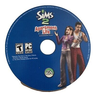 £4.64 • Buy The Sims 2: Apartment Life ~ Expansion Pack (PC Game DVD-ROM, 2008) Disc Only