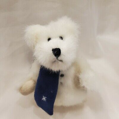 £3.62 • Buy The Boyds Collection LTD 1990-1999 Archive Series White Bear Blue Scarf Ornament