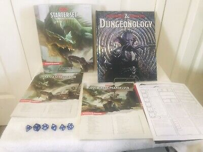 AU36.50 • Buy Dungeons And Dragons Boxed Starter Set As New + D&D Dungeonology Game Book