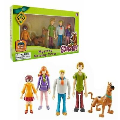 £11.29 • Buy Scooby Doo Mystery Solving Crew 5 Figure Action Figures Articulated Toy