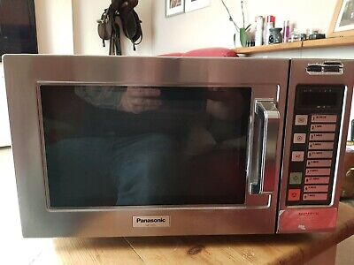 £133 • Buy Commercial Panasonic Microwave 1000w Silver Used