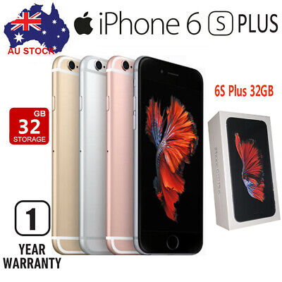 AU355.89 • Buy New Apple IPhone 6s Plus 32GB Gray Gold Silver (Unlocked) A1687~Sealed Unopened
