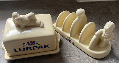 £9 • Buy Lurpak Butter Dish And Toast Rack Never Used