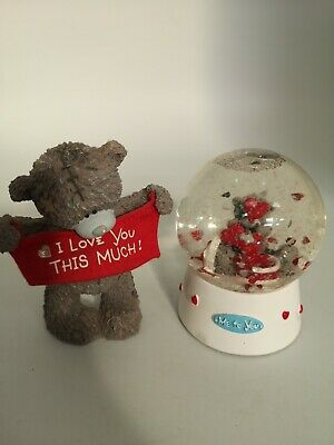 £10.99 • Buy Me To You I Love You This Much 2000s Figurine & Snowglobe Collectible Gift #LB