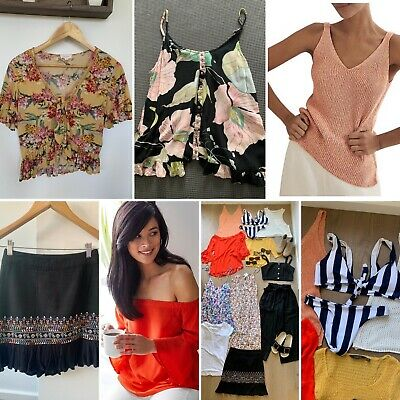 AU100 • Buy Womens Size 8-12 Clothes Bundle Country Road, Cotton On, Tigerlily Seed 20 Item