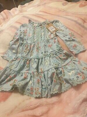 £9 • Buy New With Tags Baby Girls Debenhams Dress Outfit 12-18 Months