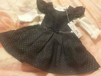 £10 • Buy Baby Girls Debenhams Dress Outfit 3-6 Months NWT