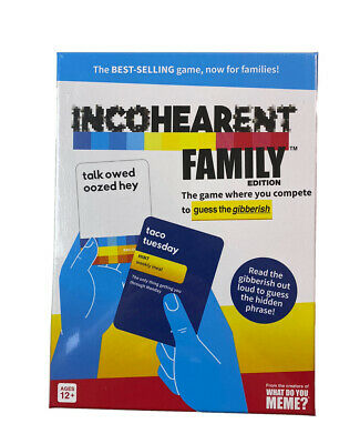 AU29.38 • Buy Incohearent Family Edition Game By What Do You Meme? New