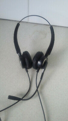 £4.75 • Buy Phone Call Centre Headset And Microphone Fully Adjustable And Two Connectors