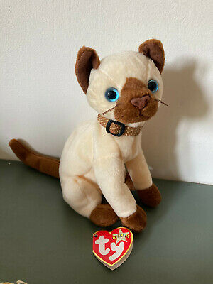£1.20 • Buy Siam The Siamese Cat TY Beanie Baby 2000 Vintage Retired - With Tag