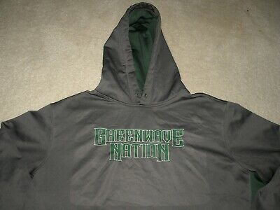 £2.89 • Buy Tulane University Green Wave Nation Men's Pull Over Hoodie Jacket Size 2XL