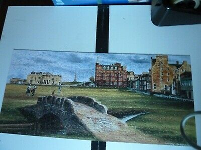 £3.15 • Buy Gibsons 636 Piece Jigsaw Puzzle ST. ANDREWS - GOLF By Terry Harrison COMPLETE
