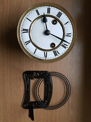 £39.99 • Buy Vienna Clock Movement  Face  Dial Hands Gong Frame 145mm Dia Clockmakers Spares