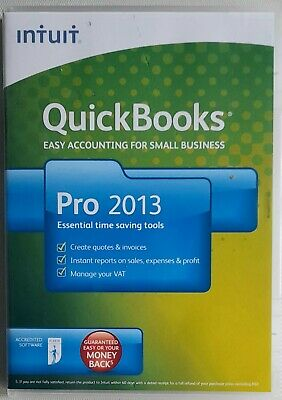 £49.99 • Buy Intuit Quick Books Pro 2013 Software.