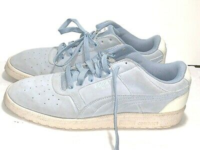 $14.99 • Buy Puma Contact Suede Gray & White Low Top Mens Size 10.5 Basketball Shoes