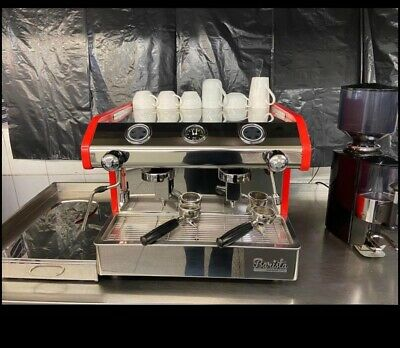 £1250 • Buy Barista Commercial 2 Group  Espresso Coffee Machine With A Grinder