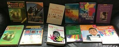 £10.99 • Buy Joblot 12 Textbooks Health & Social Care, Early Years, Teaching Assistant, Pre S