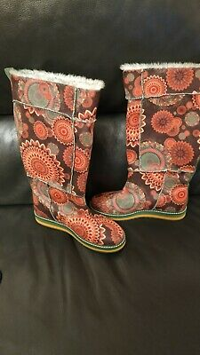 £40 • Buy Desigual Colourful Boots In Size 4