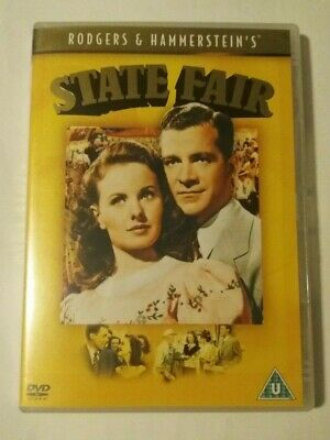£0.99 • Buy State Fair DVD 1945 Rodgers And Hammerstein Musical Classic Hollywood
